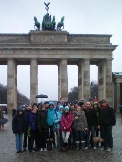 Wettkampfteam in Berlin